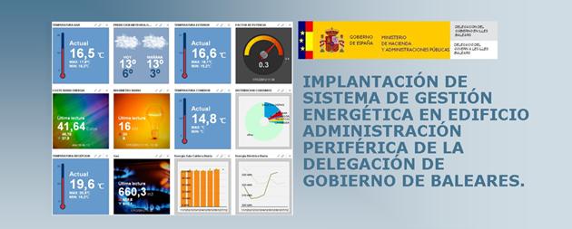 Sistema de Gestión Energética en Delegación de Gobierno