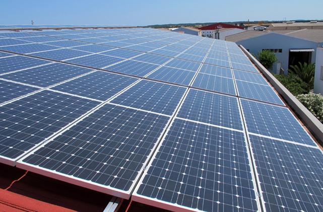Instalación fotovoltaica Ciutadella